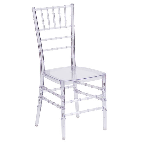 "Our Flash Elegance Crystal Ice Stacking Chiavari Chair with <span style=""color:#0000CD;"">Free </span> Cushion is on sale now."