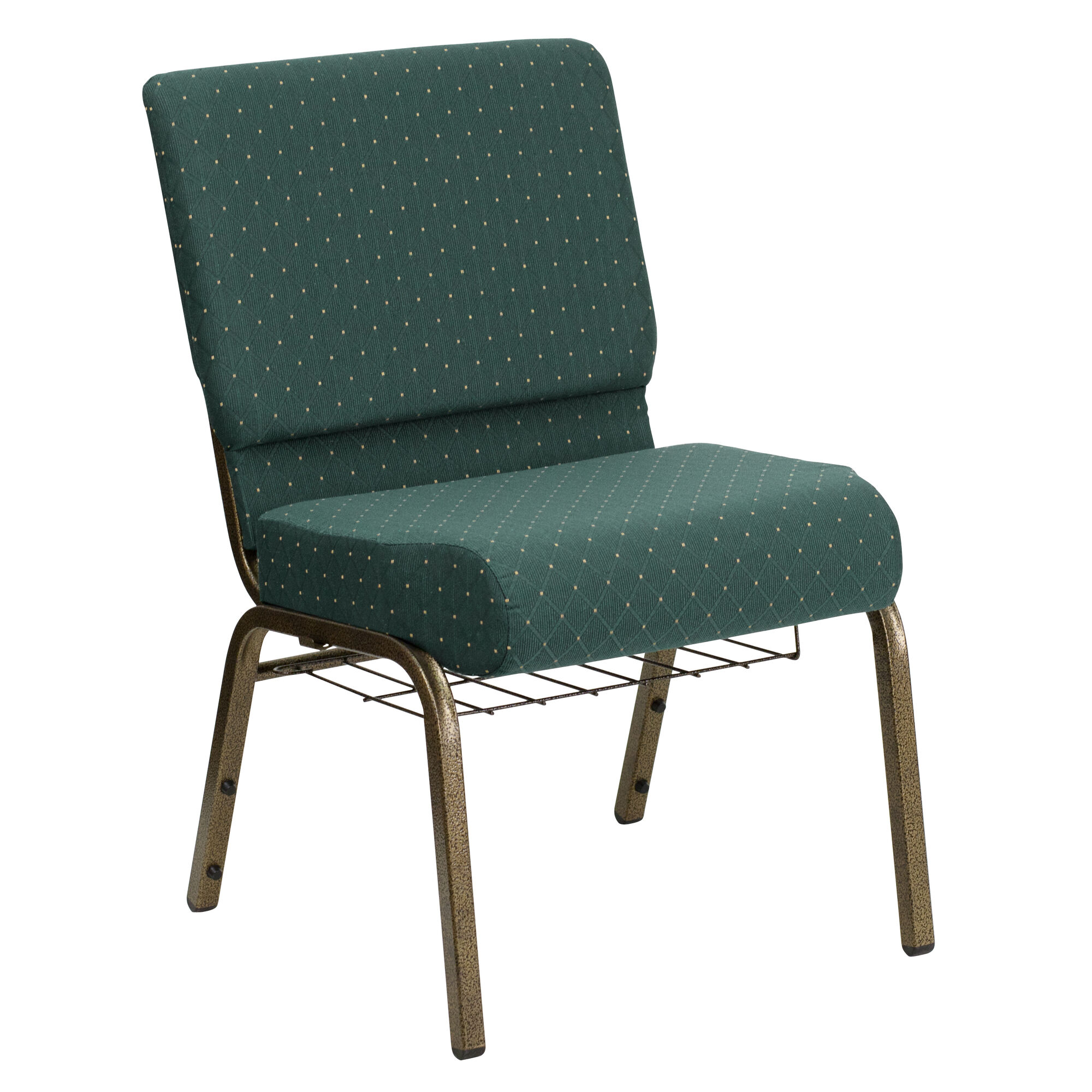Flash Furniture Hercules Series 21 W Church Chair In