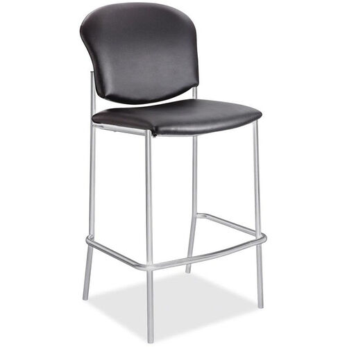 Safco Diaz Stacking Steel Frame Armless Barstool