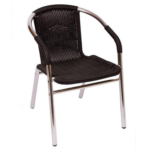 Our Madrid Chair Synthetic Wicker Wrapped Arm in Black is on sale now.