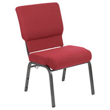 Advantage Burgundy Church Chair 20.5 in. Wide