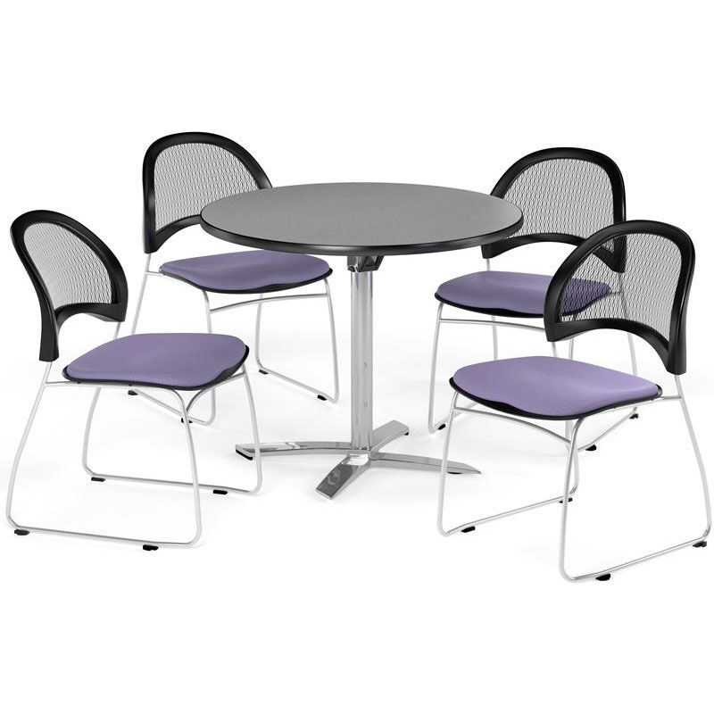 Merveilleux ... Our Multi Purpose 36u0027u0027 Round Flip Top Table With 4 Moon Stack