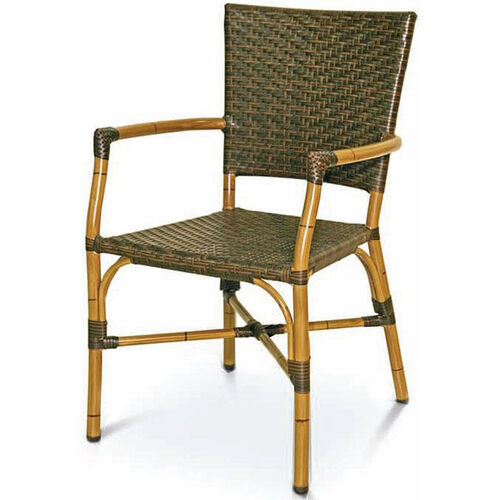 Our Havana Collection Safari Bamboo Stackable Outdoor Arm Chair is on sale now.