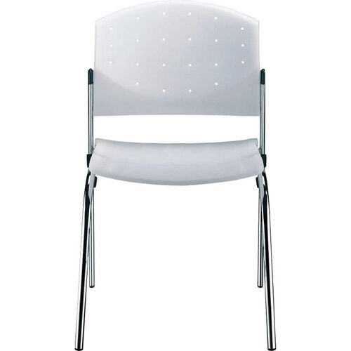 Our Eddy 4-Post Chrome Stack Side Chair is on sale now.