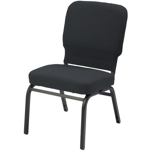 Our 1040 Series Extra Wide Stacking Steel Frame Armless Pew Chair with 3.5
