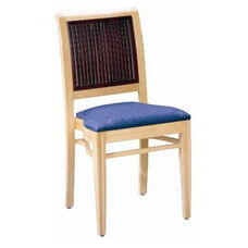 597 Stacking Chair w/ Upholstered Seat - Grade 2