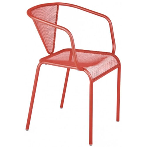 Our Venice Beach Micro Mesh Stacking Arm Chair - Grenadine is on sale now.