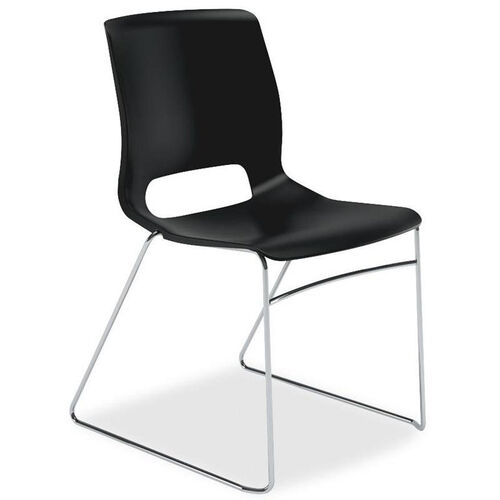 Our The HON Company Motivate Onyx Sled-based Stacking Chairs - Carton of 4 is on sale now.