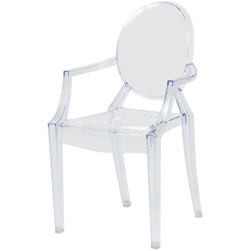 Our Kids Clear Polycarbonate Baby Kage Chair with Arms - Set of 4 is on sale now.
