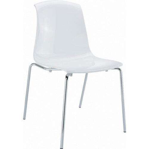 Allegra Polycarbonate Indoor Dining Chair
