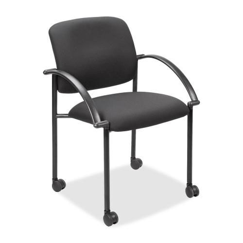 Lorell Stack Chair - Guest/Receptionist - 23 -1/2