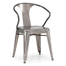 Helix Chair in Gunmetal