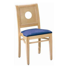 595 Stacking Chair w/ Upholstered Seat - Grade 2