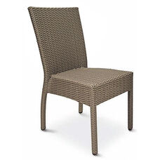 Naples Collection Stackable Outdoor Side Chair