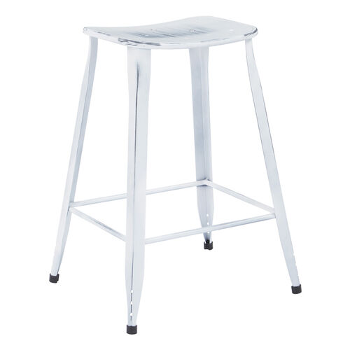 Osp Designs Durham 26 Counter Stool Set Of 4 Antique White