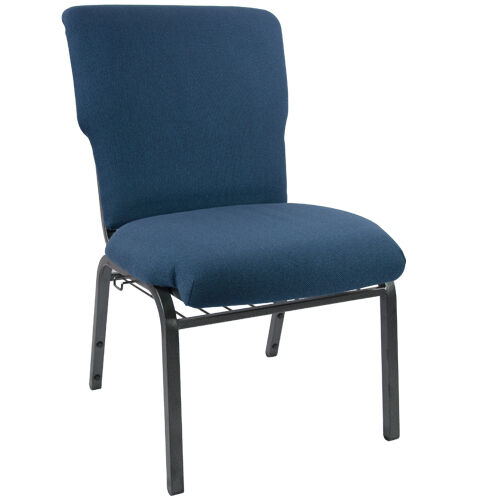 Our Advantage Navy Church Chair 20.5 in. Wide is on sale now.