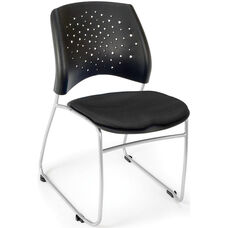 Stars Stack Chair - Black Seat Cushion