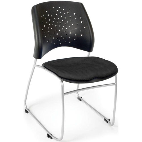 Our Stars Stack Chair - Black Seat Cushion is on sale now.