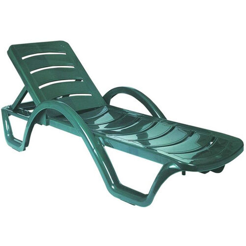 Our Sunrise Resin Pool Chaise Lounge with Arms and Hidden Wheels is on sale now.