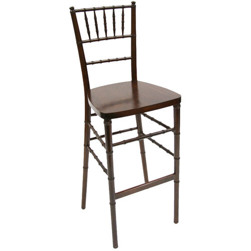 Our American Classic Red Mahogany-Finish Wood Chiavari Barstool is on sale now.