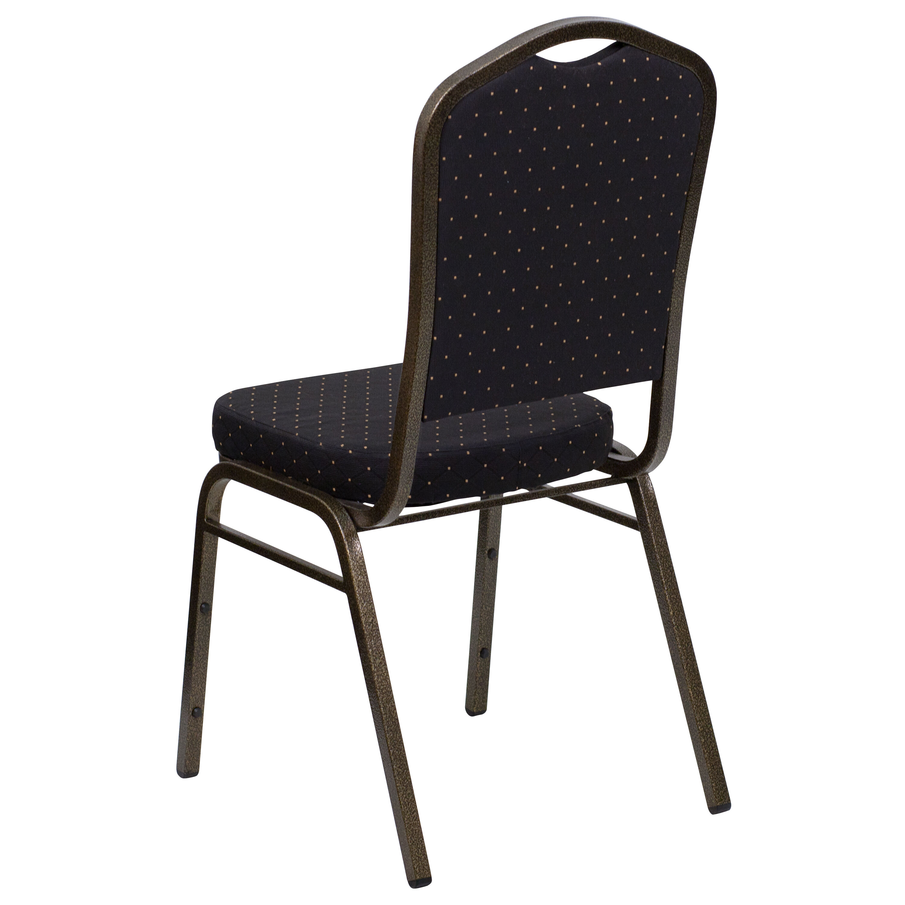 Exceptional Flash Furniture HERCULES Series Crown Back Stacking Banquet Chair In Black  Patterned Fabric   Gold Vein Frame FD C01 GOLDVEIN S0806 GG |  StackChairs4Less. ...