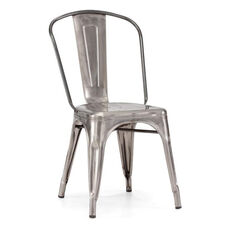 Elio Chair in Gunmetal