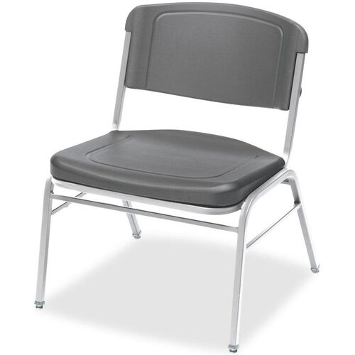 Our Rough N Ready 350 lb. Capacity Big & Tall Stack Chair - Set of Four - Charcoal is on sale now.