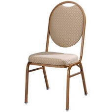 Omega I Premium Comfort Stacking Chair with Oval Back
