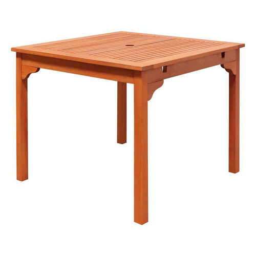 Our Malibu Outdoor Wood Square Stacking Table is on sale now.