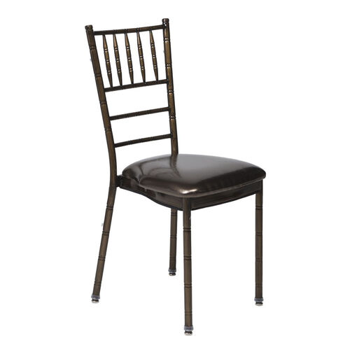 Our 500 lb. Max Chiavari Chocolate Chair with Chocolate Vinyl Cushion is on sale now.