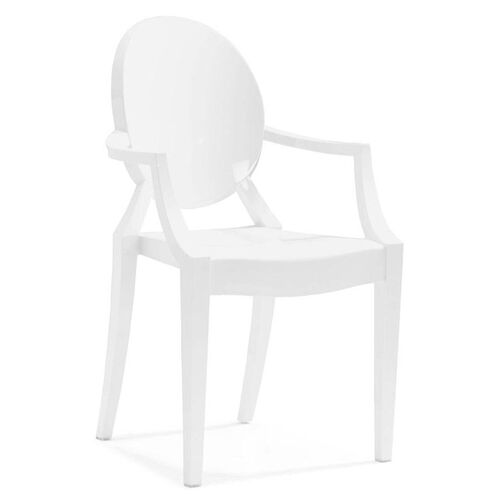 Anime Dining Chair in White