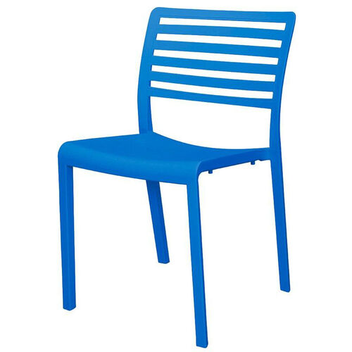 Our Savannah Outdoor Stackable Armless Side Chair - Blue is on sale now.