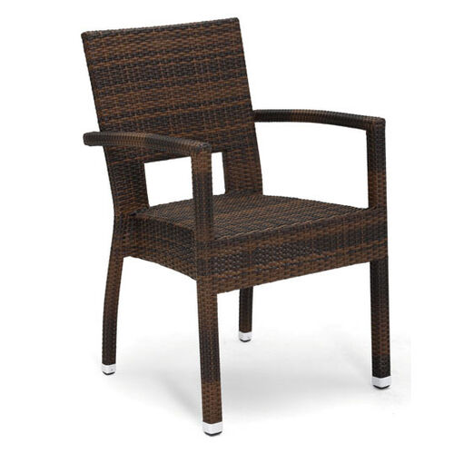 Our Seattle Collection Stackable Outdoor Arm Chair - Golden Crown is on sale now.