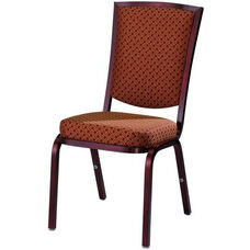 Burgess Como Premium Comfort Banquet Stacking Chair with Rectangle Back