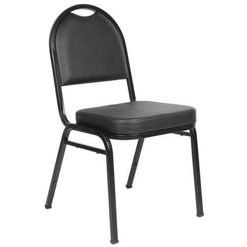 Our Caressoft™ and Black Powder Coated Steel Frame Banquet Chair - Set of 4 - Black is on sale now.