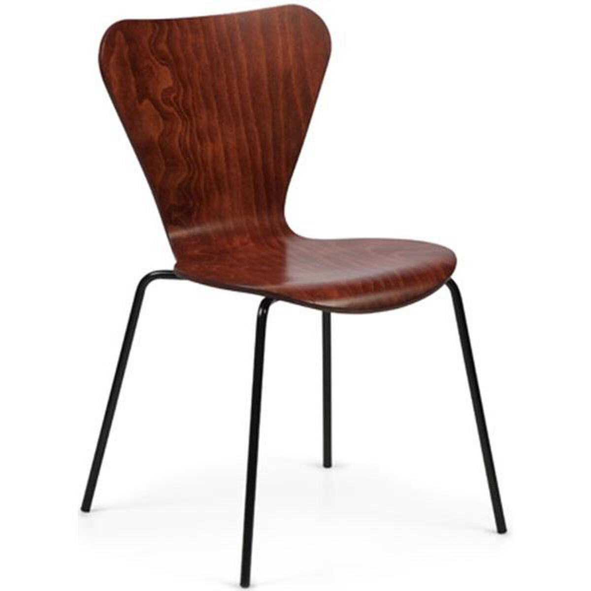 Art Design International Clover Steel Frame Stacking Chair