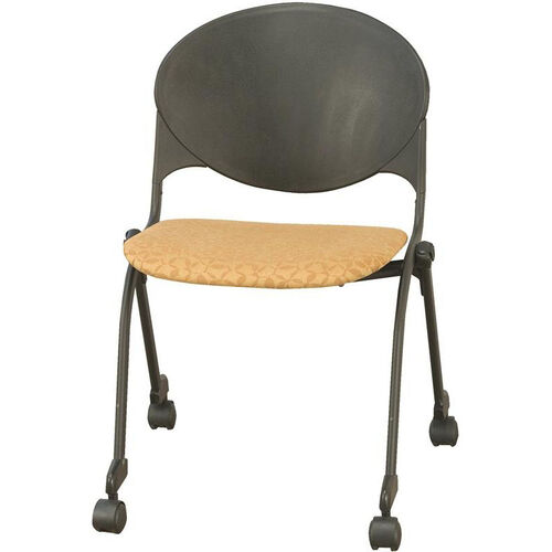 Our 2000 Series Stacking Multipurpose Steel Frame Polypropylene Chair with Upholstered Seat and Casters is on sale now.