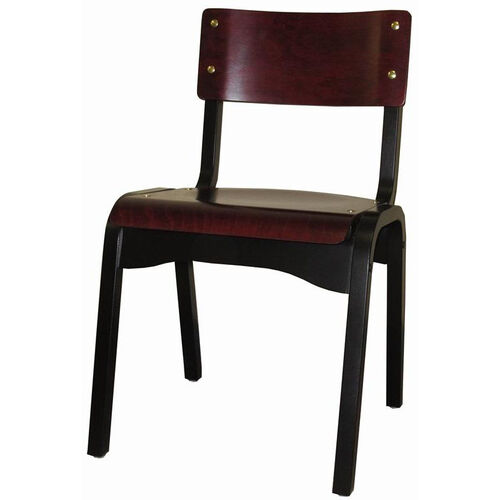 Our Custom Carlo Armless Stacking Guest Chair - Wood Seat is on sale now.