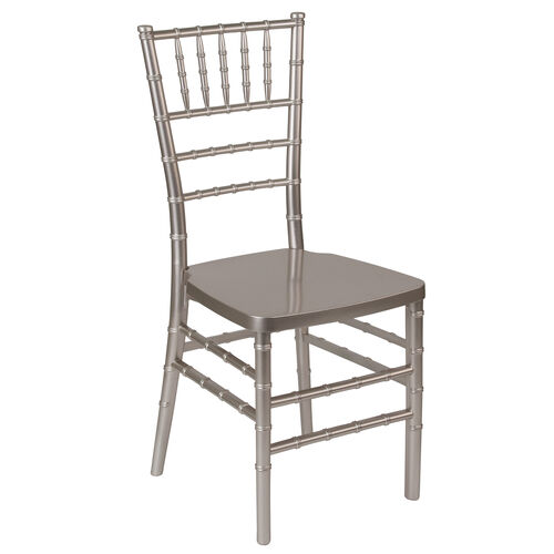 "Our HERCULES PREMIUM Series Pewter Resin Stacking Chiavari Chair with <span style=""color:#0000CD;"">Free </span> Cushion is on sale now."