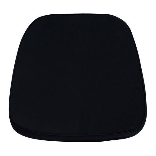 Our Soft Black Fabric Chiavari Chair Cushion is on sale now.