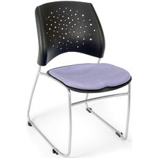 Stars Stack Chair - Lavender Seat Cushion