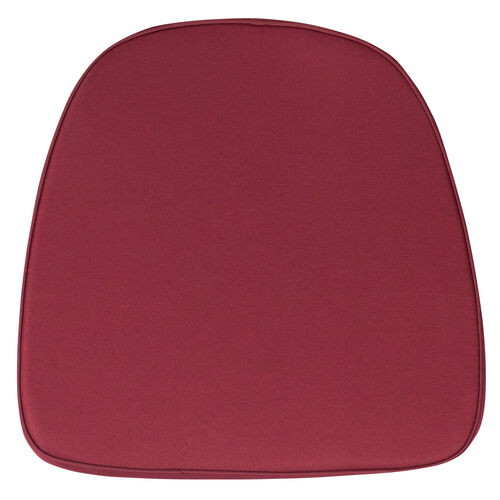 Our Soft Burgundy Fabric Chiavari Chair Cushion is on sale now.