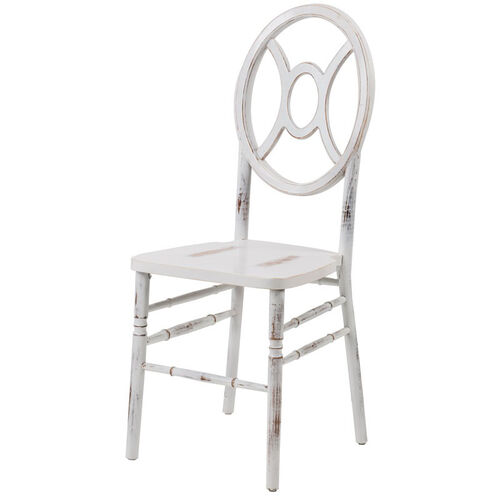 Our Veronique Series Stackable Twin Wood Dining Chair - Lime White Wash is on sale now.