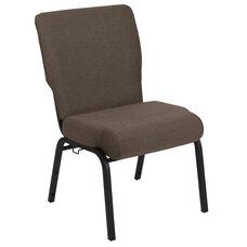 Advantage 20.5 in. Jute Molded Foam Church Chair