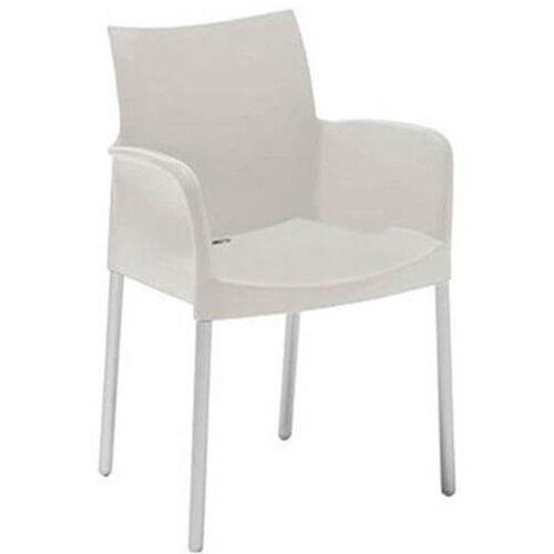 Our Pedrali Stackable Poly Shell Outdoor Arm Chair in White is on sale now.