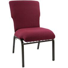 Advantage Maroon Church Chair 20.5 in. Wide