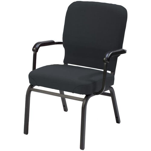 1040 Series Extra Wide Stacking Steel Frame Pew Armchair with 3.5