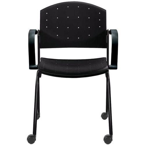 Our Eddy Stack Side Chair on Casters is on sale now.