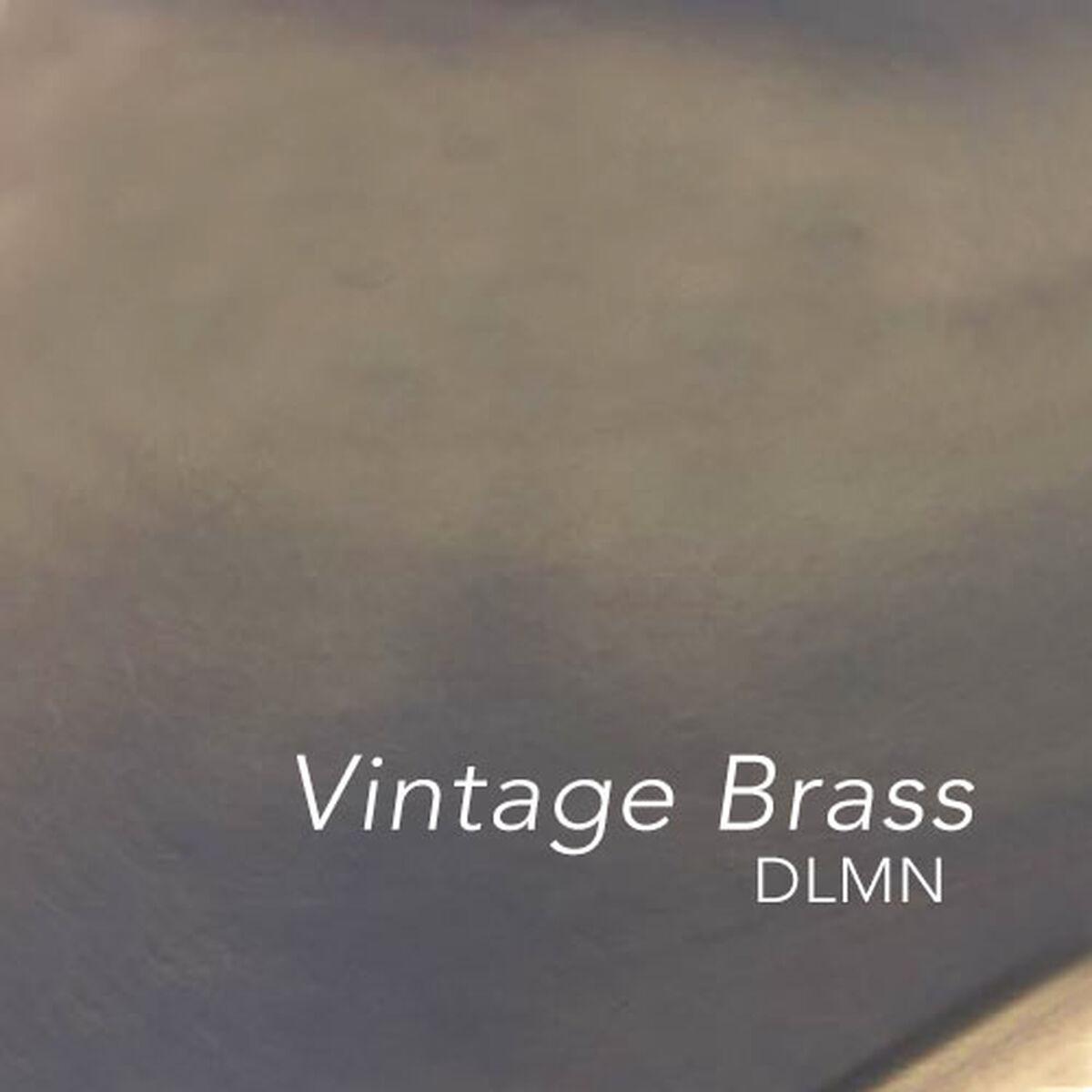 Design Lab Mn Dreux Vintage Brass Stackable Steel Armless
