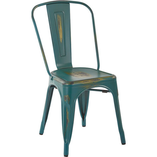 Our OSP Designs Bristow Armless Chair - Set of 2 - Antique Turquoise is on sale now.